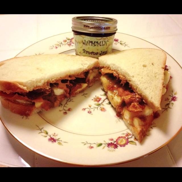 Jammin S Version Of The Elvis Presley Peanut Butter Sandwich Recipe Jammin Jams Made In The Usa